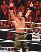 John Cena Print by Wrestling Photos