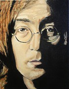 Pallet Knife Originals - John Lennon by Michael Kulick