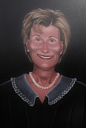 Judge Judy Print by Susan Roberts