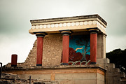 Minotaur Photo Posters - Knossos Archeological Site Poster by Gabriela Insuratelu