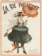 20Õs  Prints - La Vie Parisienne  1920 1920s France Print by The Advertising Archives