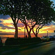 Clouds Art - Lahaina Sunset by Darice Machel McGuire