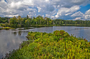 Aderondack Posters - Lake Abanakee in the Adirondacks Poster by David Patterson