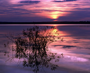 Dusk Art - Lake Peno by Anonymous