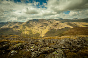 Mike Taylor Prints - Langdale Print by Mike Taylor