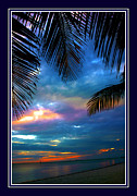 """blue Sunset"" Posters - Last Sunbeams Poster by Susanne Van Hulst"