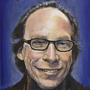 Lawrence Krauss Print by Simon Kregar