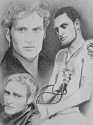 Singers Drawings Prints - Layne Staley Print by Amber Stanford