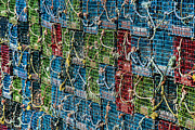 Lobster Pots Framed Prints - Lobster Traps Framed Print by John Greim