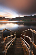 Beautiful Scotland Framed Prints - Loch Lomond Jetty Framed Print by Grant Glendinning