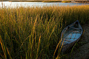 Cape Cod Landscape Posters - Low TIde Poster by Bill  Wakeley