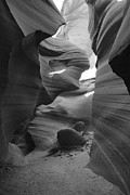 Antelope Canyon Metal Prints - Lower Antelope Canyon Metal Print by Mike Herdering
