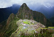 Machu Picchu Framed Prints - Machu Picchu Framed Print by Dan Breckwoldt