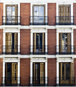 Architectural Design Prints - Madrid Print by Frank Tschakert