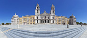 Religious Art Art - Mafra National Palace and Convent by Jose Elias - Sofia Pereira