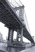 Gregory Dyer - Manhattan Bridge Overpass