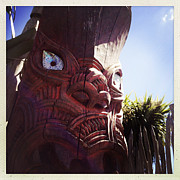 Tribal Art Art - Maori carving by Les Cunliffe