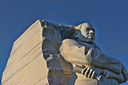 Martin Luther King Jr Prints - Martin Luther King Jr Memorial Print by Allen Beatty