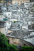 Sassi Framed Prints - Matera city of stones Framed Print by Sabino Parente