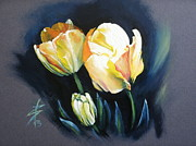 Floral Pictures Painting Prints - May Beauty Be With You.. Print by Alessandra Andrisani
