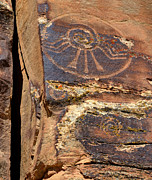 Dry Creek Photos - McConkie Ranch Petroglyph - Utah by Gary Whitton