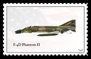Phantom Digital Art - McDonnell Douglas F-4D Phantom II by Arthur Eggers