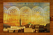 Centre Painting Prints - Medina of Faz Print by Catf