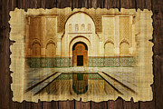 Centre Painting Prints - Medina of Marakkesh Print by Catf