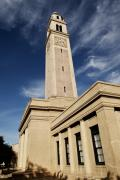 South Louisiana Prints - Memorial Tower Print by Scott Pellegrin