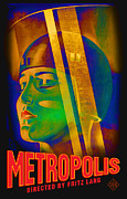 Silent Movie Posters - Metropolis Poster by Gary Grayson