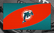 Miami Dolphins Print by Joe Hamilton