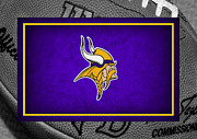 Minnesota Vikings Print by Joe Hamilton