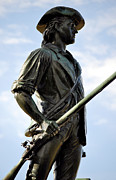 Concord Massachusetts Metal Prints - Minute Man Statue Concord Massachusetts Metal Print by Staci Bigelow