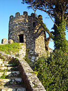 Battlement Prints - Moorish Castle Print by Lusoimages