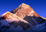 Tim Hester Prints - Mount Everest Print by Tim Hester