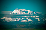 Ice Pyrography Metal Prints - Mount Gurla Mandhata Metal Print by Raimond Klavins
