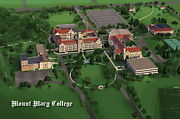 Mount Mary College  Print by Rhett and Sherry  Erb