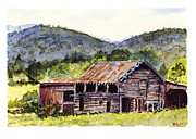 Barry Jones - Mountain Barn