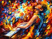 Leonid Afremov - Music Fight