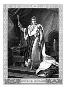 French Leaders Posters - Napoleon Bonaparte Poster by War Is Hell Store