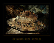 National Park Service Prints - National Park Service Ranger Hat Print by John Stephens