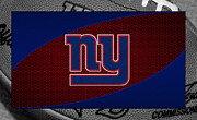 Offense Framed Prints - New York Giants Framed Print by Joe Hamilton
