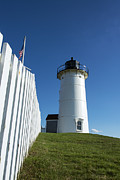 Nobska Lighthouse Print by John Greim