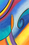 Abstract Music Pastels - None by Matt Howe