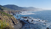 Rocky Shore Prints - Northern California Coast Print by Twenty Two North Photography