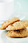Oatmeal Prints - Oatmeal Cookies Print by HD Connelly