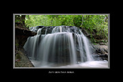 Gentle Cascades Art - Odom Creek Falls Georgia by Charles Beeler
