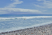 Lahaina Prints - Olowalu Beach Maui Hawaii Print by Sharon Mau