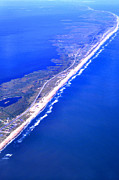 Pea Photos - Outer Banks Aerial by Thomas R Fletcher