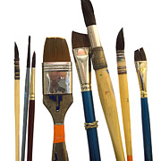 Art And Craft Art - Paintbrush by Bernard Jaubert